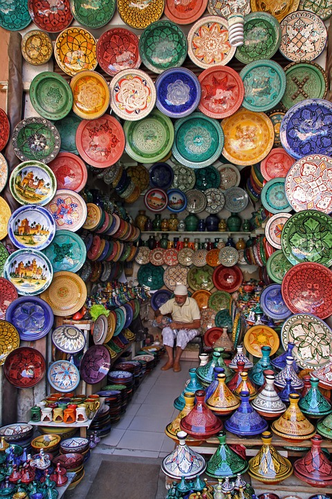Marrakech Souks From RoamingCamelsMorocco.com