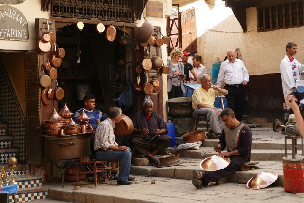 Artisan in Fes from RoamingCamelsMorocco