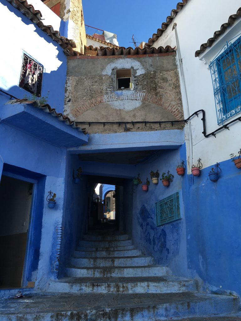 Chefchaouen also known as the Blue City