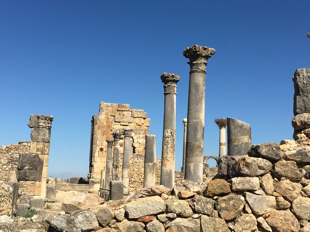 Volubilus near Meknes from Roamin