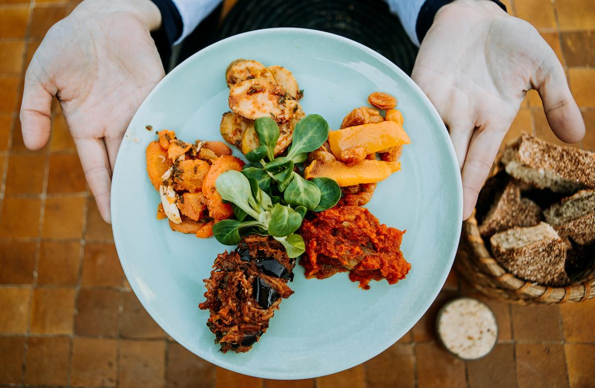 Food tour of Morocco